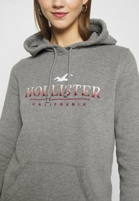 Hollister Co. - SECONDARY TECH CORE  - Hoodie - grey - 5