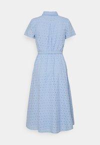 Lauren Ralph Lauren Petite - ROWEN SHORT SLEEVE DAY DRESS - Shirt dress - light sky blue - 1