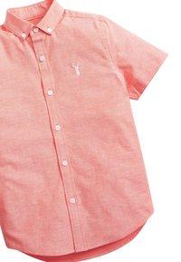 Next - CORAL SHORT SLEEVE OXFORD SHIRT (3-16YRS) - Camicia - orange - 2