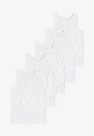 WHITE 5 PACK - Tílko - white
