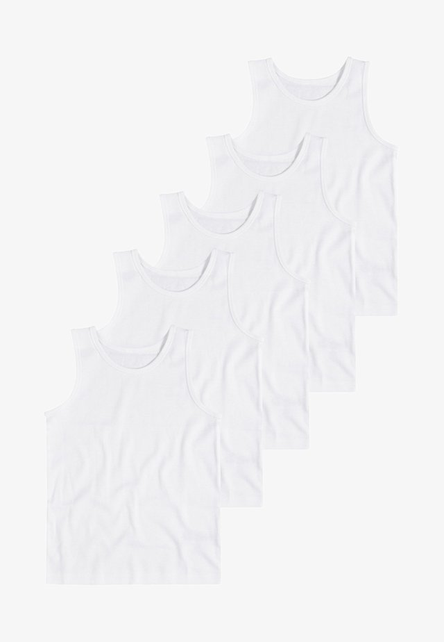 WHITE 5 PACK - Maglietta intima - white