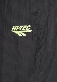 Hi-Tec - HUEY LIGHTWEIGHT TRACK PANTS - Trainingsbroek - black - 4