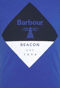 Barbour Beacon - DIAMOND TEE - T-shirt med print - atlantic blue - 2