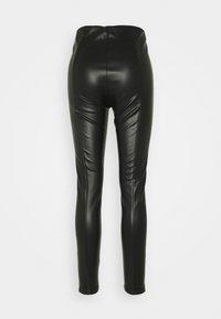 s.Oliver - HOSE 7/8 - Leggings - Trousers - black - 1
