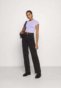 Dr.Denim - ECHO - Jeans straight leg - concrete black - 1