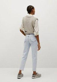 Mango - NEWMOM - Jeans a sigaretta - bleach blauw - 2