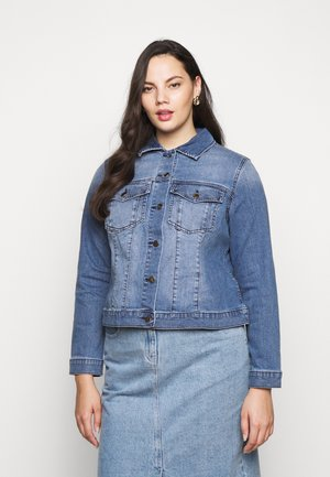 ANNIE CURVE JACKET - Denim jacket - classic wash