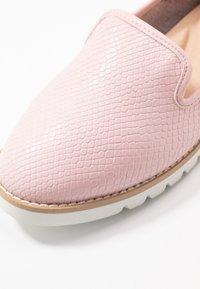 Dune London - GALLEON - Loaferit/pistokkaat - pink - 2