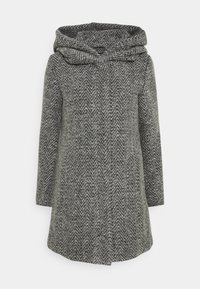 ONLY - ONLZIENA HOODED COAT  - Cappotto classico - black/melange - 5