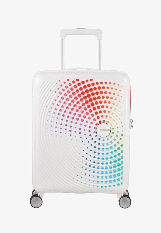 SOUNDBOX - Wheeled suitcase - white/red