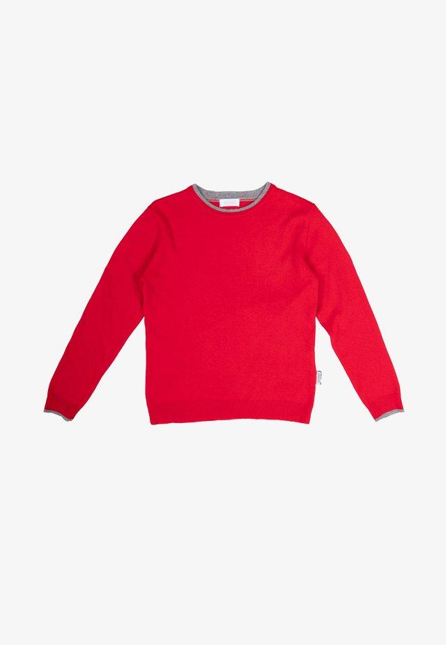 Maglione - rosso