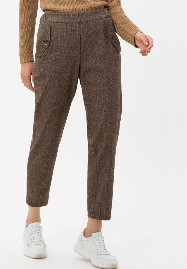 STYLE MAREEN S - Pantaloni - walnut