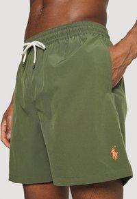 Polo Ralph Lauren - TRAVELER SWIM - Swimming shorts - supply olive - 4