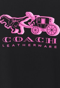 Coach - HORSE AND CARRIAGE  - Print T-shirt - black - 2