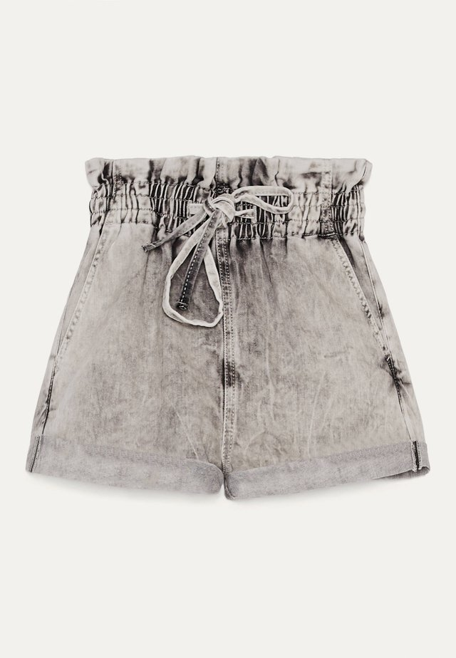 MIT KORDEL  - Short en jean - grey