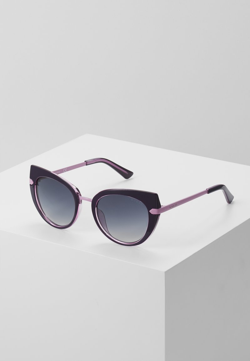 Guess - INJECTED - Sunglasses - black/pink