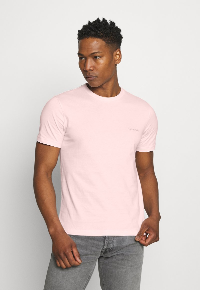 Calvin Klein - CHEST LOGO - T-shirt basic - pink