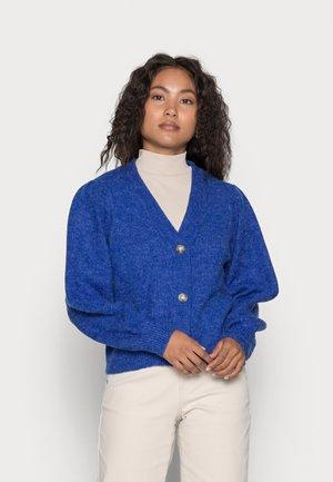 EVE NONSIA CARDIGAN - Kardigan - mazarine blue melange