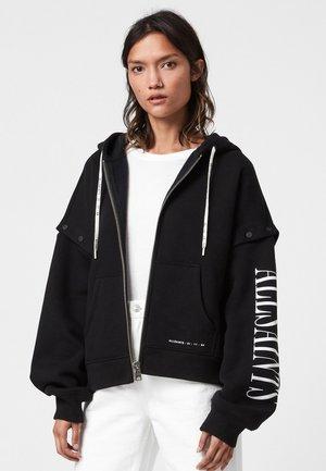 AMPHIA CHLO - Zip-up sweatshirt - black