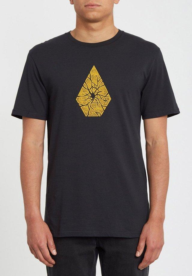 SHATTER - T-shirt imprimé - black