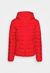 Light jacket - deep crimson
