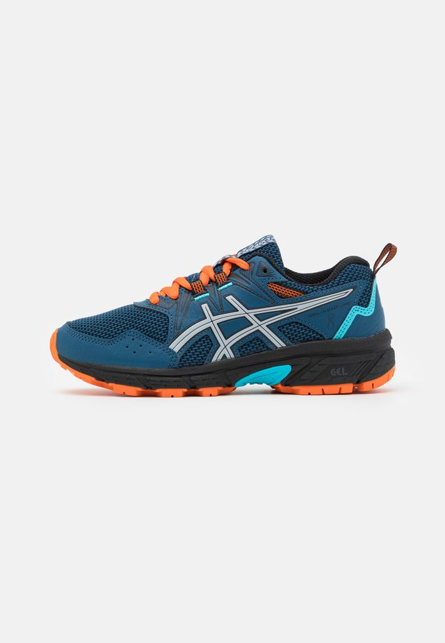 GEL-VENTURE 8 UNISEX - Trail running shoes - mako blue/piedmont grey