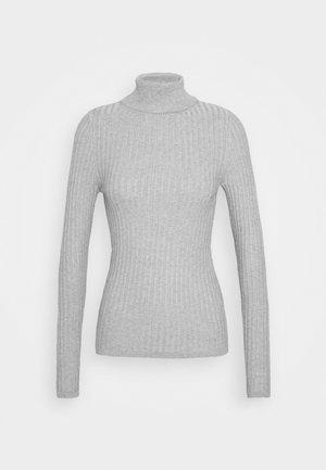 ROLL NECK JUMPER - Strickpullover - light grey