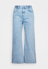 LINEAR TROUSERS - Straight leg jeans - summer blue