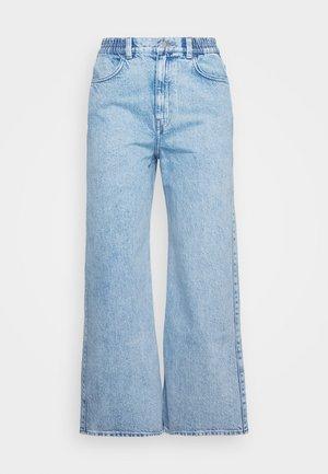 LINEAR TROUSERS - Straight leg jeans - summer blue