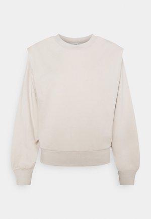 JDYLENKA IVY LIFE SHOULDER - Sweatshirt - chateau gray
