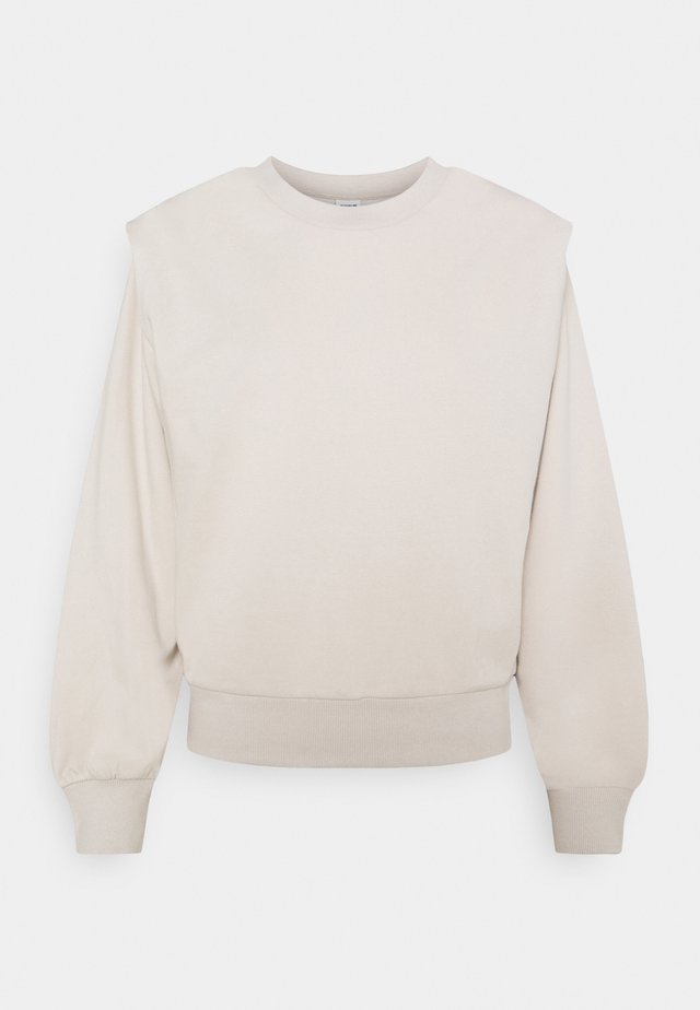 JDYLENKA IVY LIFE SHOULDER - Sweater - chateau gray