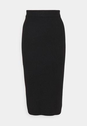 AVA SKIRT - Falda de tubo - black
