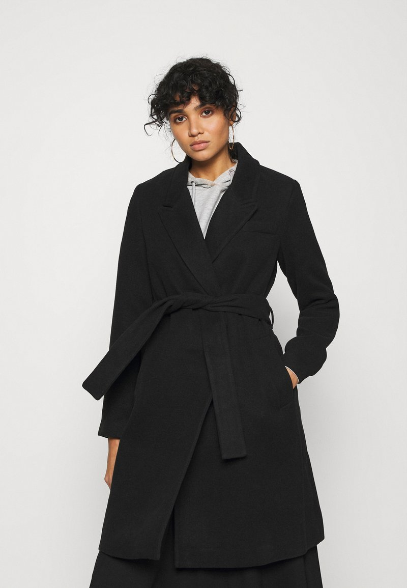 Vero Moda - VMCALAHOPE JACKET - Short coat - black