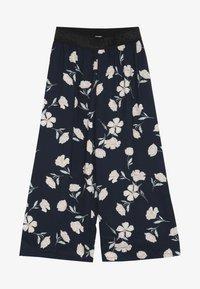 Name it - NKFLULONA 7/8 WIDE PANT - Trousers - dark sapphire - 2