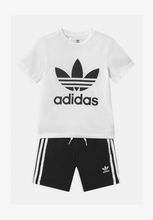 TEE SET UNISEX - Shorts - white/black