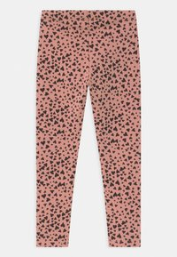 Lindex - HEART - Leggings - Trousers - dusty pink - 1