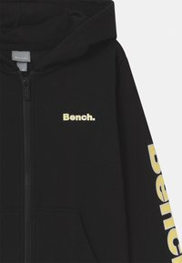 Bench - DELPHINE ZIP THROUGH - Mikina na zip - black - 2