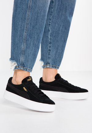 VIKKY STACKED - Zapatillas - black/white