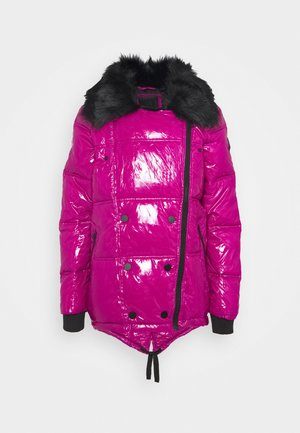 Winter jacket - dark pink