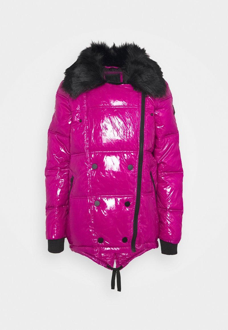 River Island - Winter jacket - dark pink