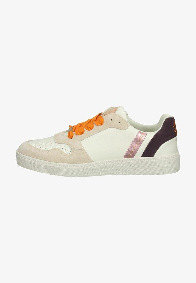 Sneakers laag - cream multi