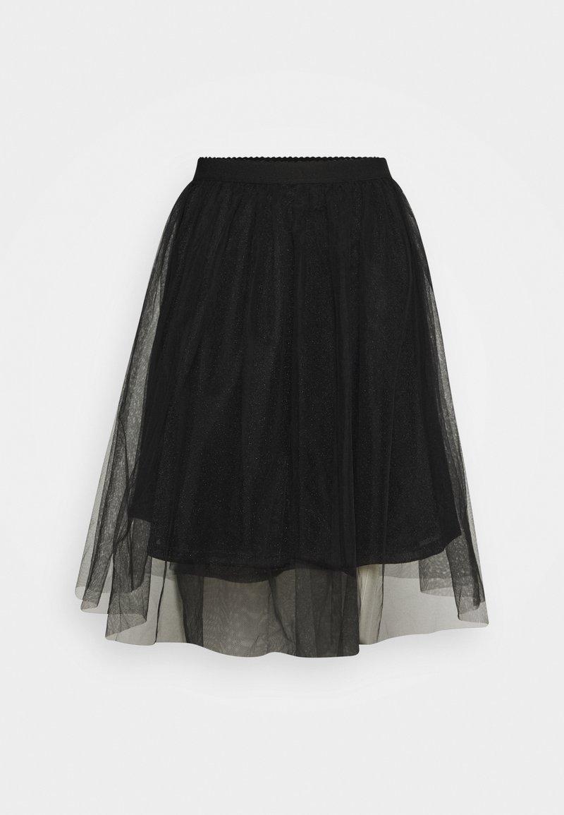 ONLY - ONLGLAMMIE OVERKNEE SKIRT - Áčková sukně - black