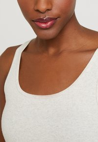 GAP - TANK - Top - oatmeal heather - 4