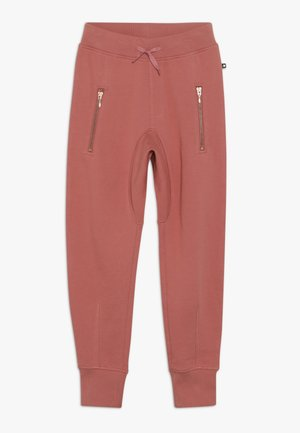 ASHLEY - Tracksuit bottoms - faded rose
