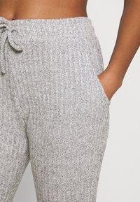 Topshop - COSY BRUSHED SET - Tracksuit bottoms - grey - 6