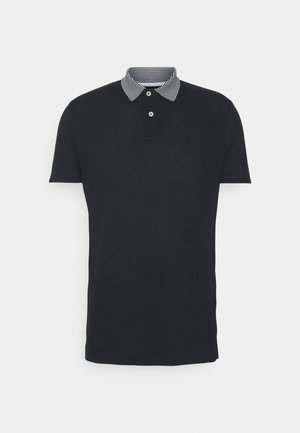 STRIPE BLEND - Polo - navy