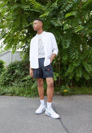 POINT LANE - Sneakersy niskie - white/hyper royal/light smoke grey/university red