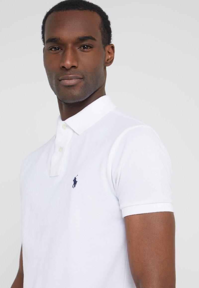 Polo Ralph Lauren Slim Fit Poloshirt White Wit Zalando Nl