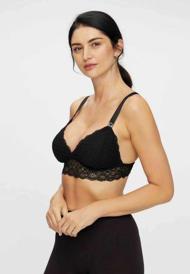 MAMALICIOUS - T-shirt bra - black