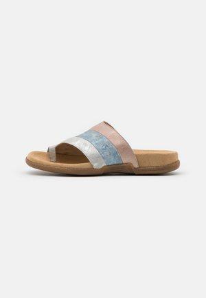 Sandály s odděleným palcem - fog/silver/heaven/rose